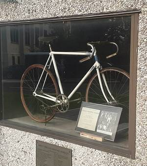 Monument Preserves 1940-41 Tour of Somerville Winner's Bicycle