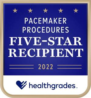 RWJUH/Somerset Earns 5-Star Rating for Pacemaker Procedures
