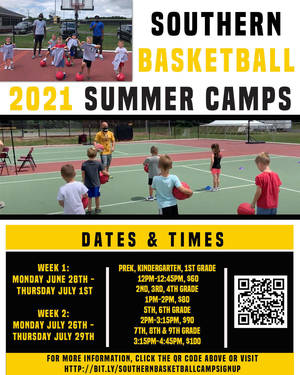 Southern Regional Summer Basketball Camps Registration is Now Open