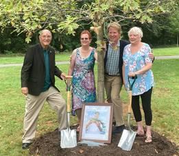 "Somerville Honors Former Mayor & ""Tree Hugger"" with Fitting Memorial"
