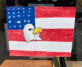 Somerville Students Respond to Mayor's Call for Patriotic Art