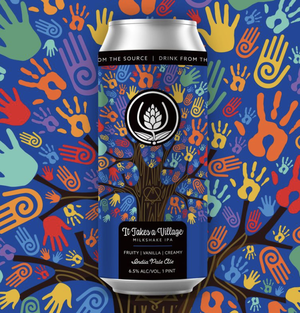 It Takes a Village: New Brew Honors, Helps Fund Journey of Loving Adoption for Source Brewing Team Member.