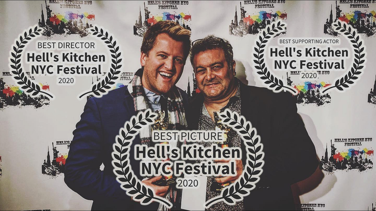 Garry Pastore of Scotch Plains Wins Best Supporting Actor for 'Shooting Heroin' at Hell's Kitchen NYC Film Fest