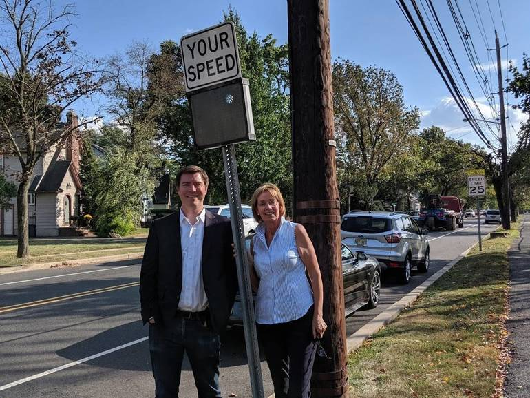 Cranford Speed Sign