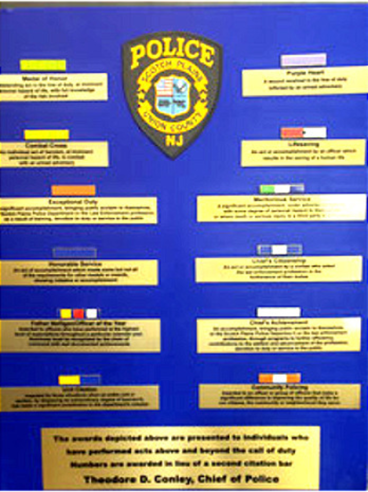 Scotch Plains Police Awards 2020