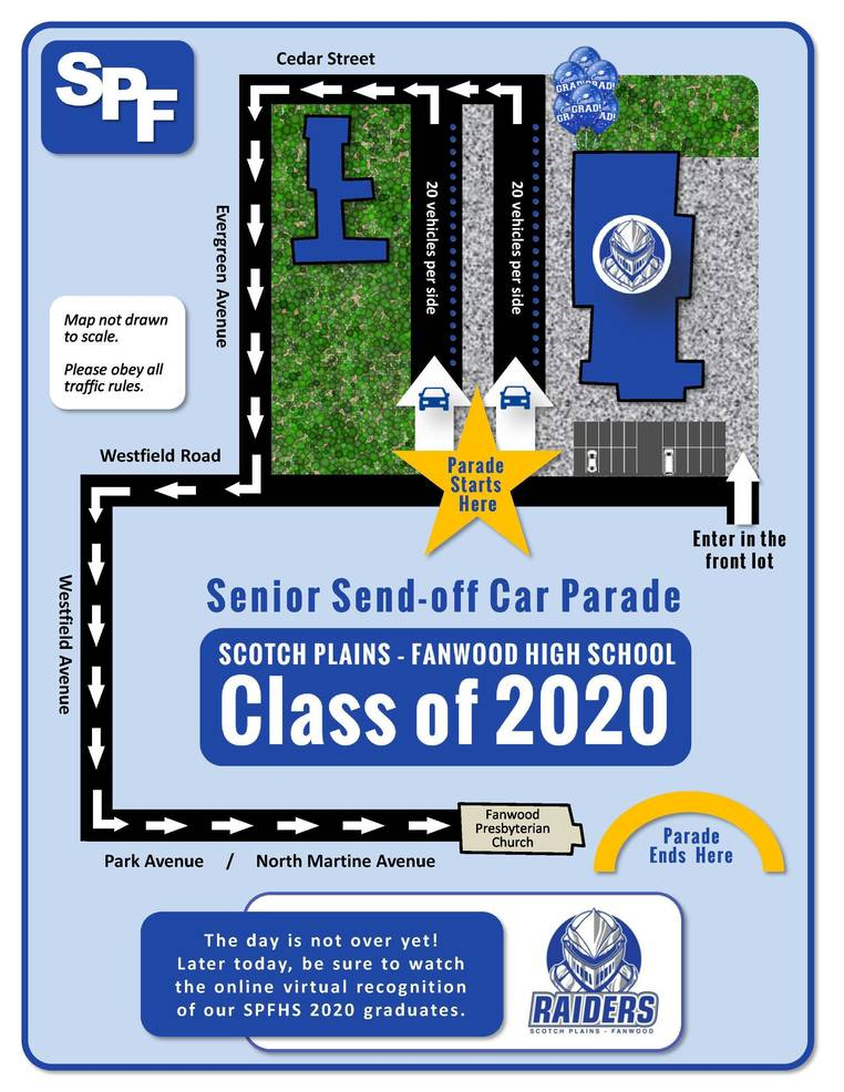 Scotch Plains-Fanwood High School celebrates the Class of 2020.