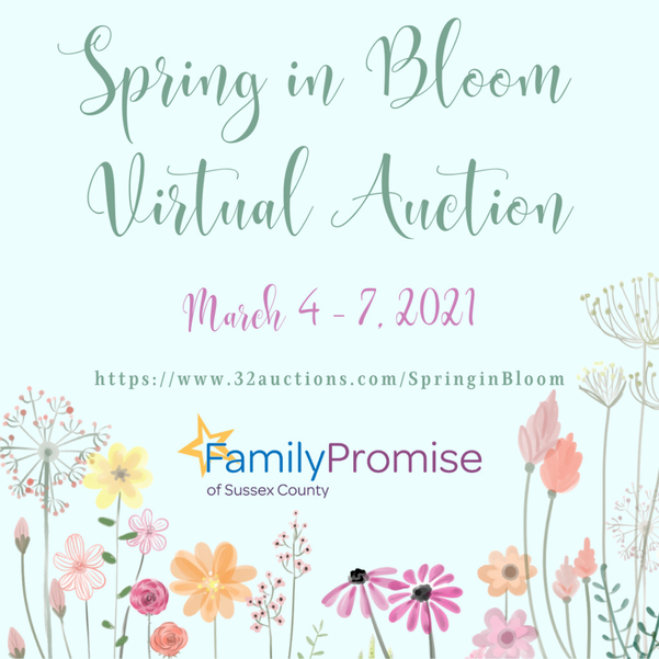 Spring in Bloom Virtual Auction March 4 to March 7, 2021
