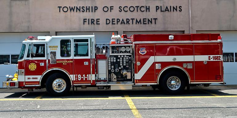 Scotch Plains fire truck