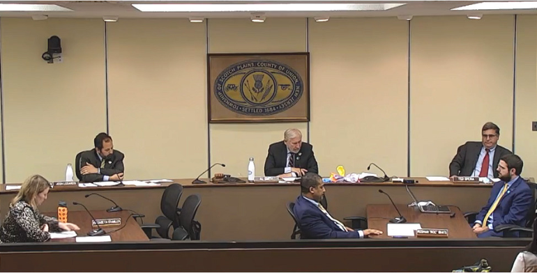 Scotch Plains Township Council meeting on May 26, 2020.