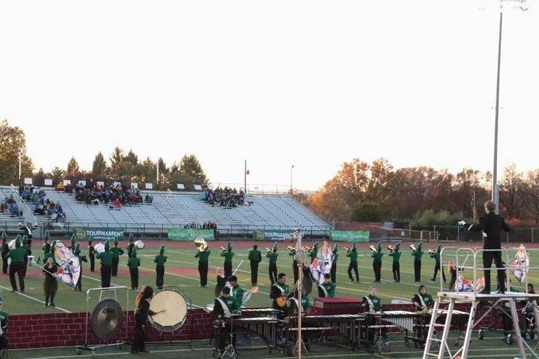 South Plainfield Marching Band Ends the Season on a High Note Placing 4th out of 22 Bands in Nationals
