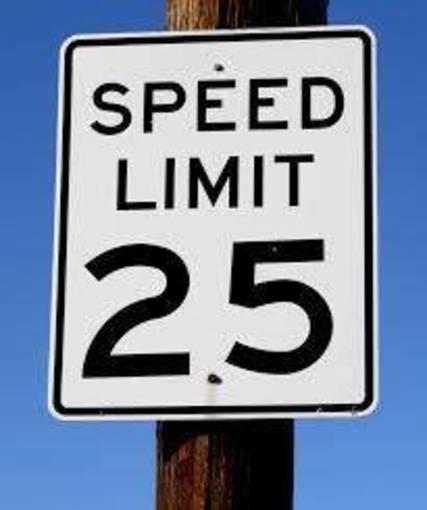 Top story 4f3d1f55374e7948f745 speed limit 25
