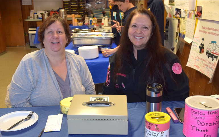 Scenes from the Scotch Plains Rescue Squad Pancake Breakfast