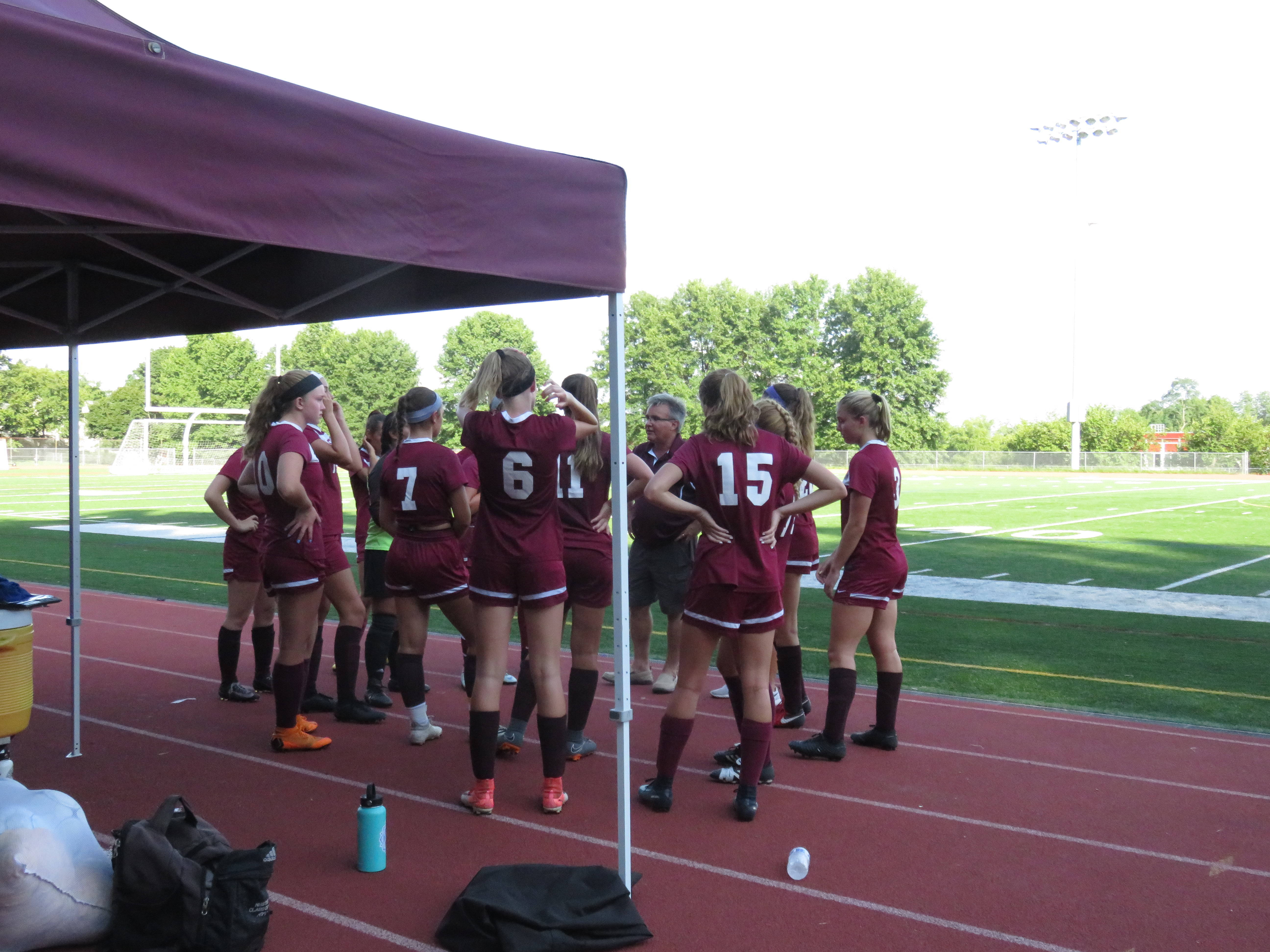 Newton Girls Soccer Team Shuts Outs High Point