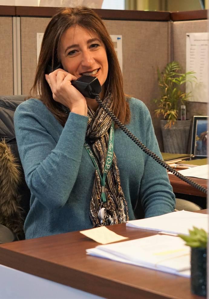 Stacy Kaplan, volunteer coordinator