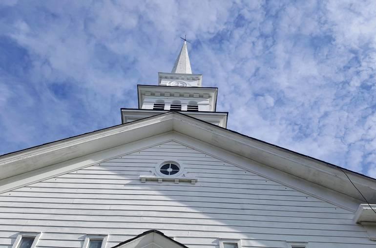 Roxbury Presbyterians Dedicate Restored Church Spire, 'A Beacon to God'