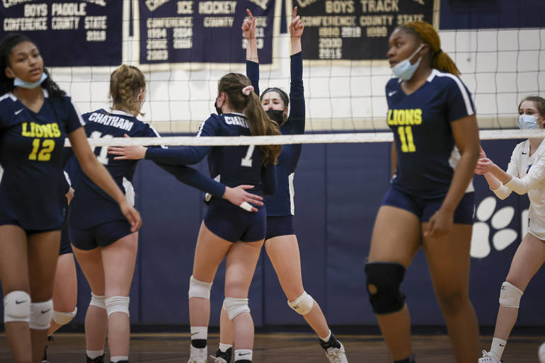 Top-Seeded Chatham Girls Volleyball Advances in State Tournament with Win vs. Payne Tech; Host Summit in Semifinals Friday