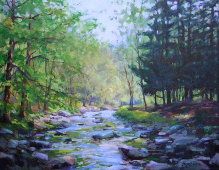 Headwaters of the Raritan by Gerry Heydt