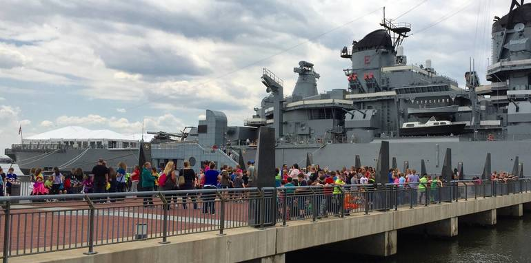 Battleship New Jersey Pier Dedicated in Honor of Assemblywoman Egan Jones