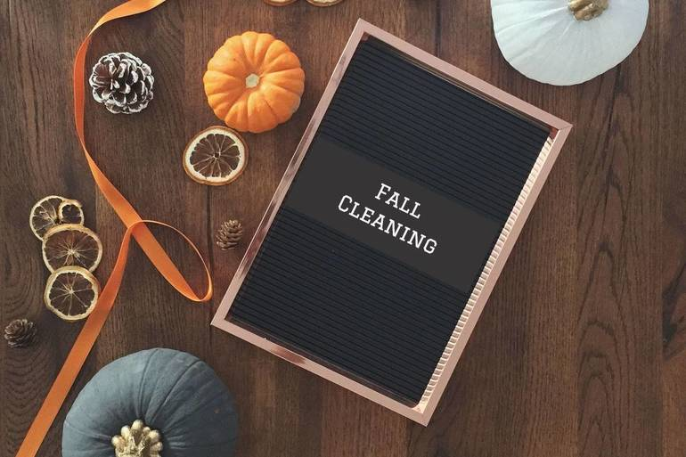 Roll-up Your Sleeves and Dig into Seasonal Cleaning
