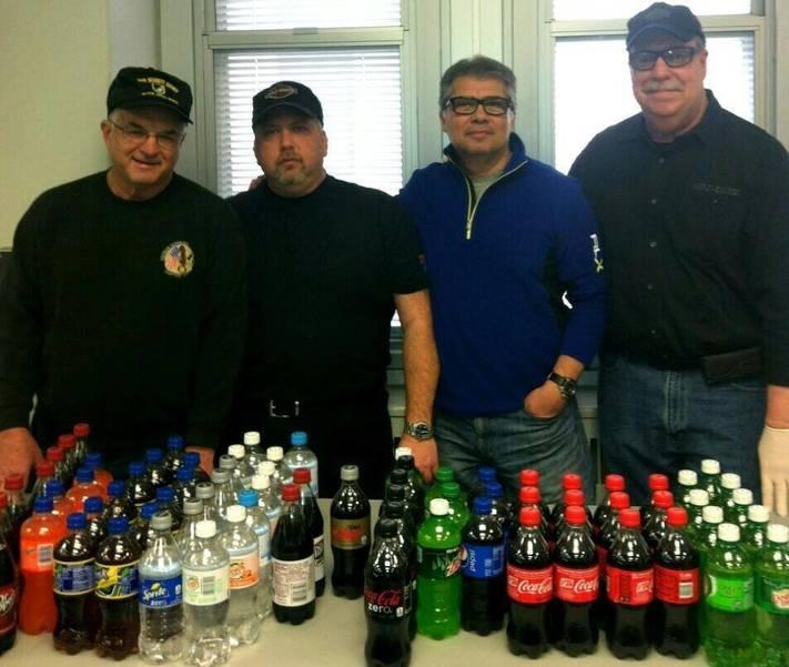 Staffing a beverage table at the VA Hospital, East Orange, NJ.jpg
