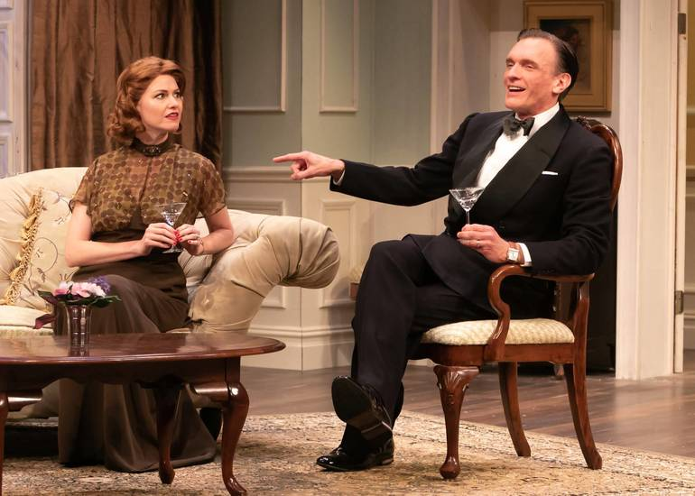 'Blithe Spirit' sparkles with elegance and wit at Shakespeare Theatre