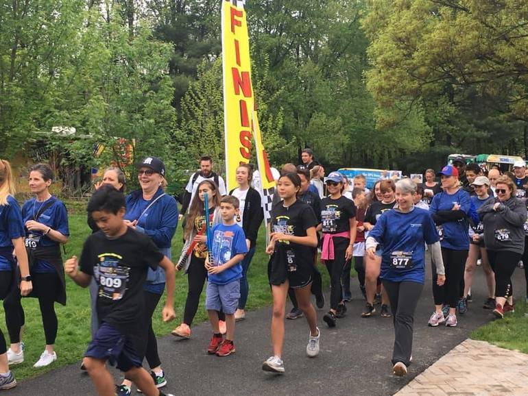 7 th Annual Action for Distraction 5K Held at Morristown's Loantaka Brook Reservation