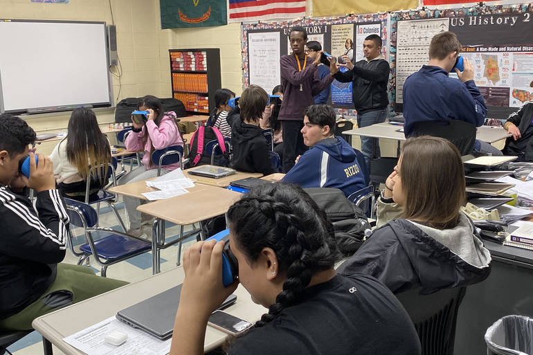 Students experience Google Expeditions in the classroom.jpg