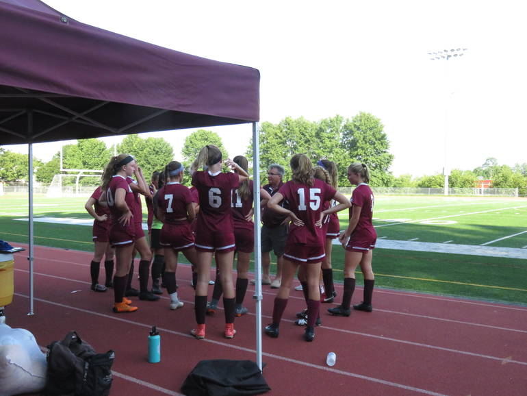 Newton Girls Soccer Wins Close Game by One