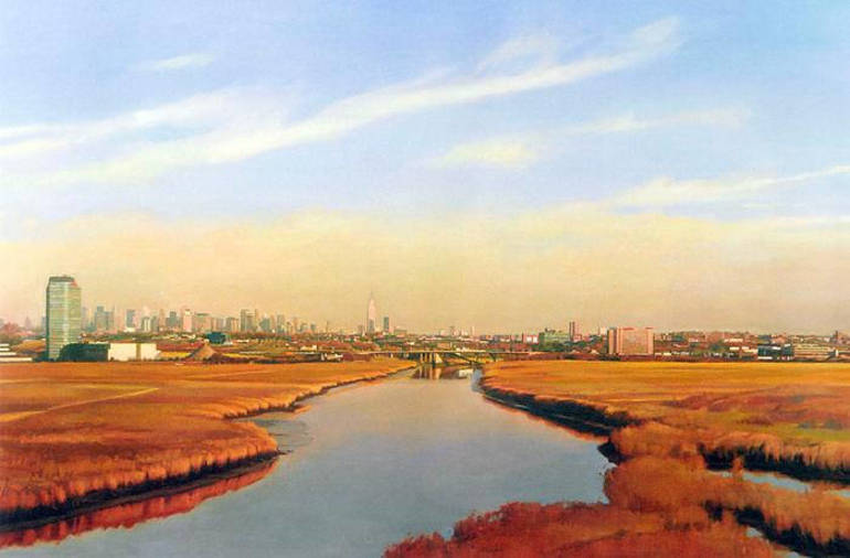 Meadowlands View of NYC by Gary Godbee