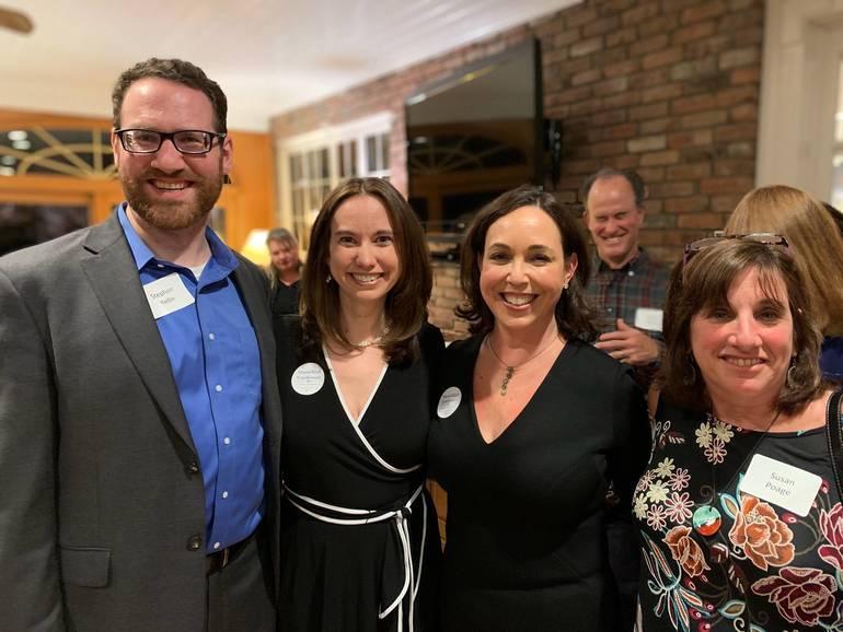 Stacey and Lisa with Councilwoman Poage & Councilman Yellin.jpg