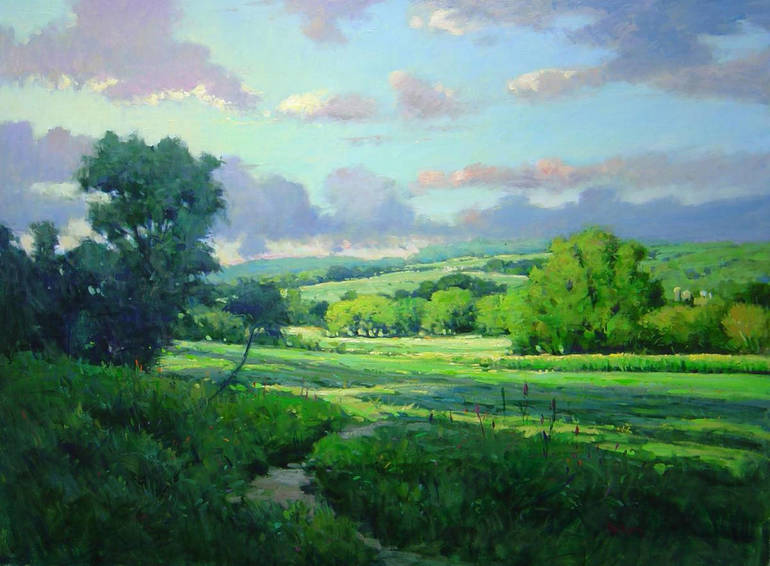 Late Afternoon, Upper Bucks County by Jim Rodgers
