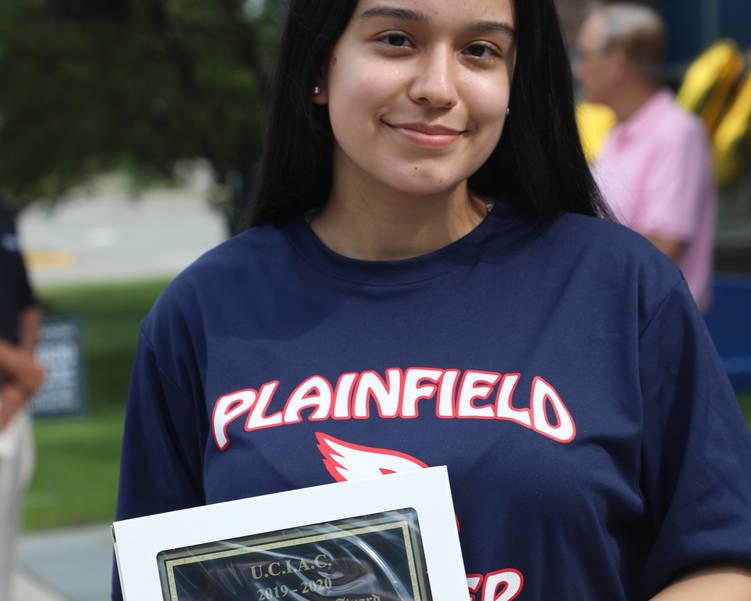 StephaniePantaleonAward.JPG