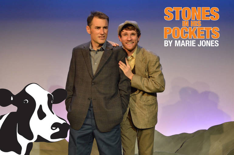 Stones In His Pockets by Marie Jones stars Brian McManus and Steve Carpenter