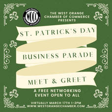 West Orange Chamber of Commerce to Hold St. Patrick's Day 'Business Parade'
