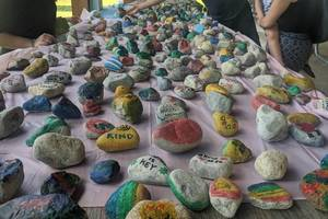 Paint Nice Messages on Stones at Upcoming Roxbury Event
