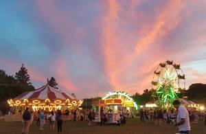 Roxbury carnival, Roxbury, NJ, St. Therese Parish