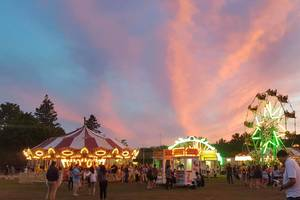 Carousel image c49f5442caee1a33be58 st. therese carnival 2019 sunset in roxbury