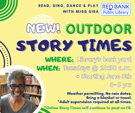 Red Bank Public Library -  Weekly Newsletter