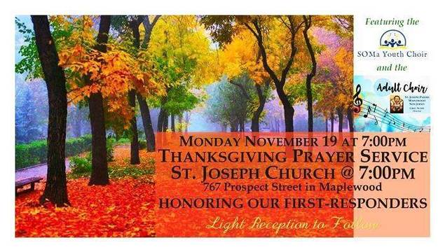 St Joseph Church To Hold Thanksgiving Prayer Service Honoring First Responders Tapinto