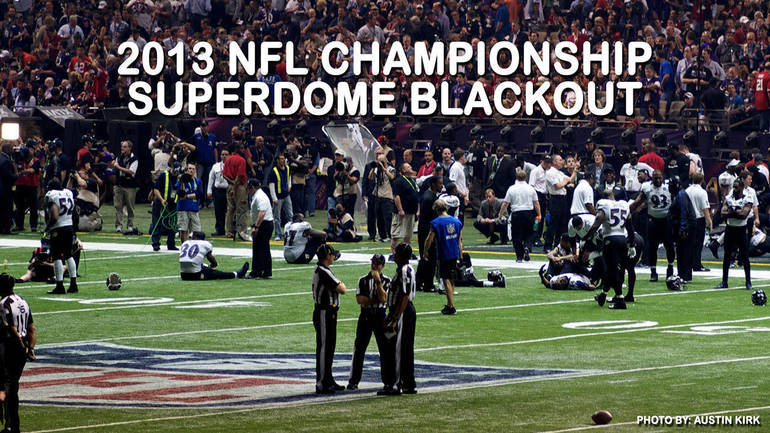 NFL Super Dome Blackout