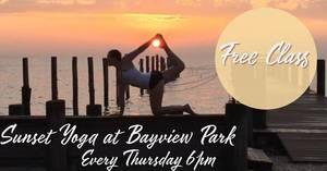 Carousel image 7226ae05fb54b19879cf sunset yoga at bayview park 2019