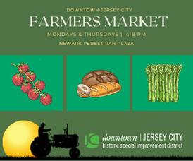 Historic Downtown Jersey City Summer Farmer's Market Kicks Off Monday