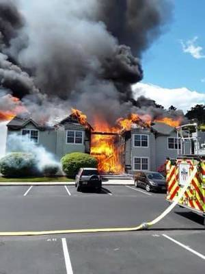 Multiple Fire Companies Called to Aid Little Egg Harbor Fire