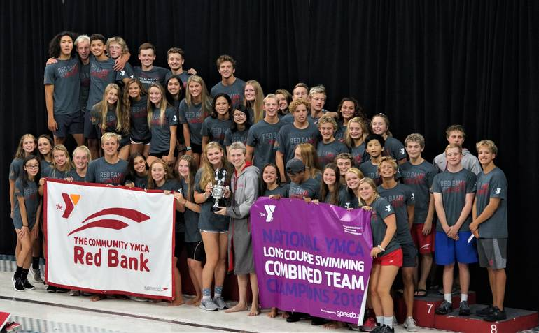 YMCA National Champion Swim Team