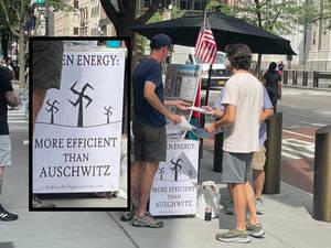 Swastika on Fifth Avenue