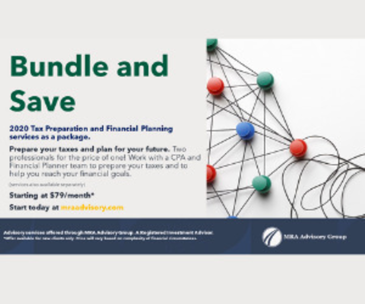 Check Two Items Off Your List by Bundling and Saving with MRA Advisory Group