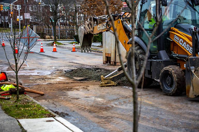Water Main Break Closes Boyden Avenue for Hours
