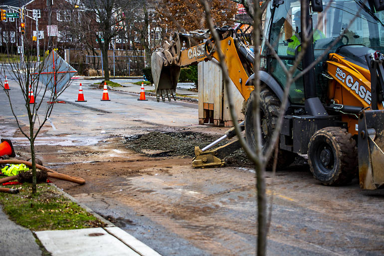 Water Main Break Closes Boyden Avenue for Hours
