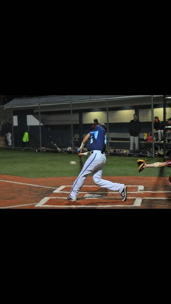 Playing baseball under the lights at WOHS