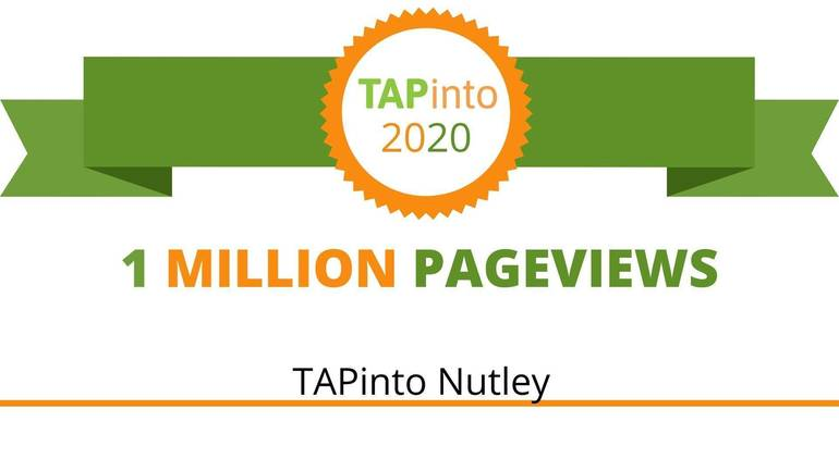 """TAPinto Nutley Welcomed into """"The 1 Million Pageview Club"""""""